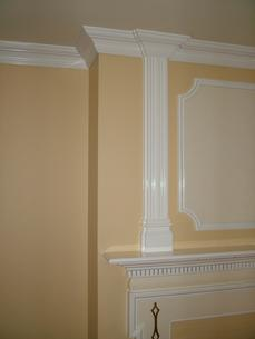 Crown Molding 701M - Built-in & Fireplace Surround